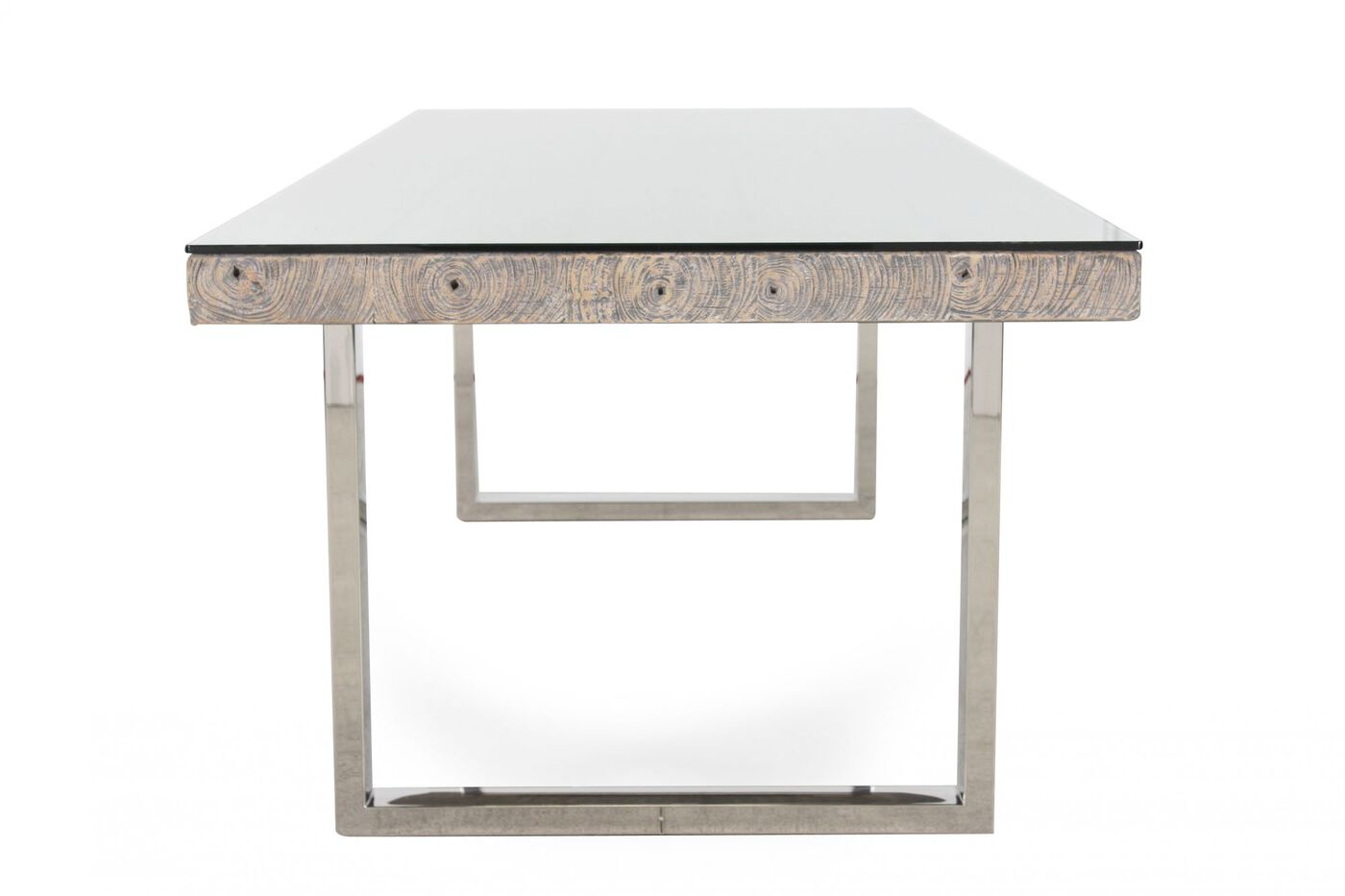 ... Bernhardt Interiors Henley Glass Dining Table ... - Bernhardt Interiors Henley Glass Dining Table Mathis Brothers