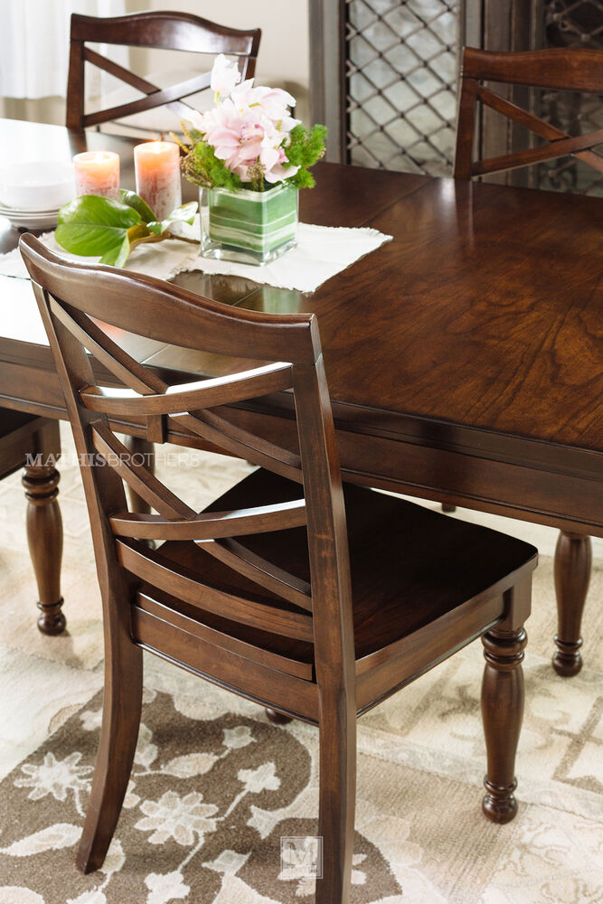 Ashley Porter Dining Table Mathis Brothers Furniture