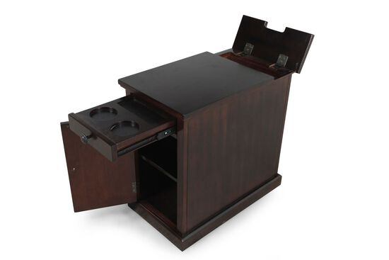 Ashley Martini Power Chairside End Table Mathis Brothers