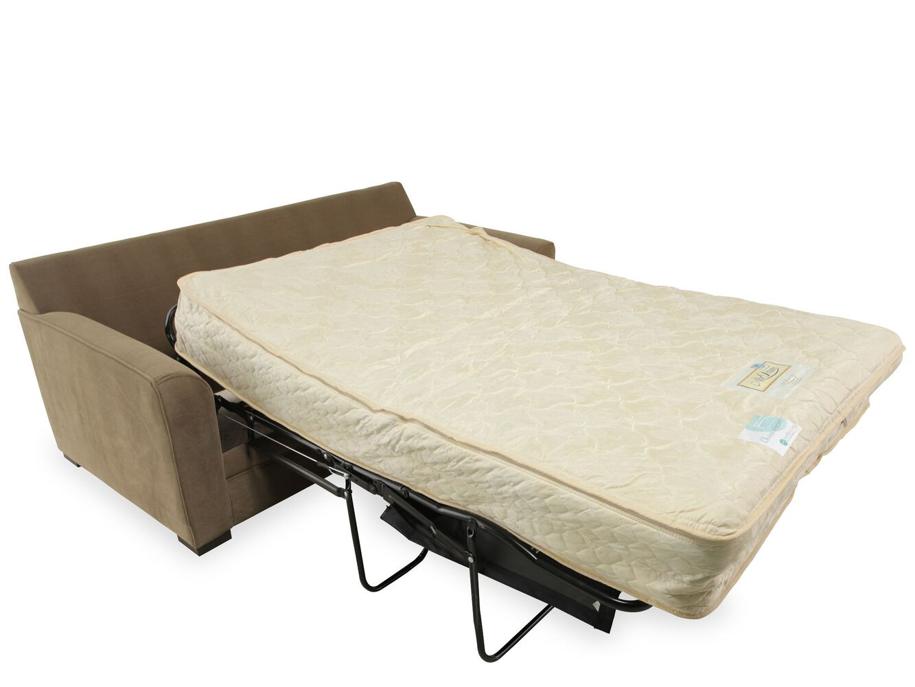 Jonathan louis full sleeper sofa with air mattress for Sofa bed air mattress