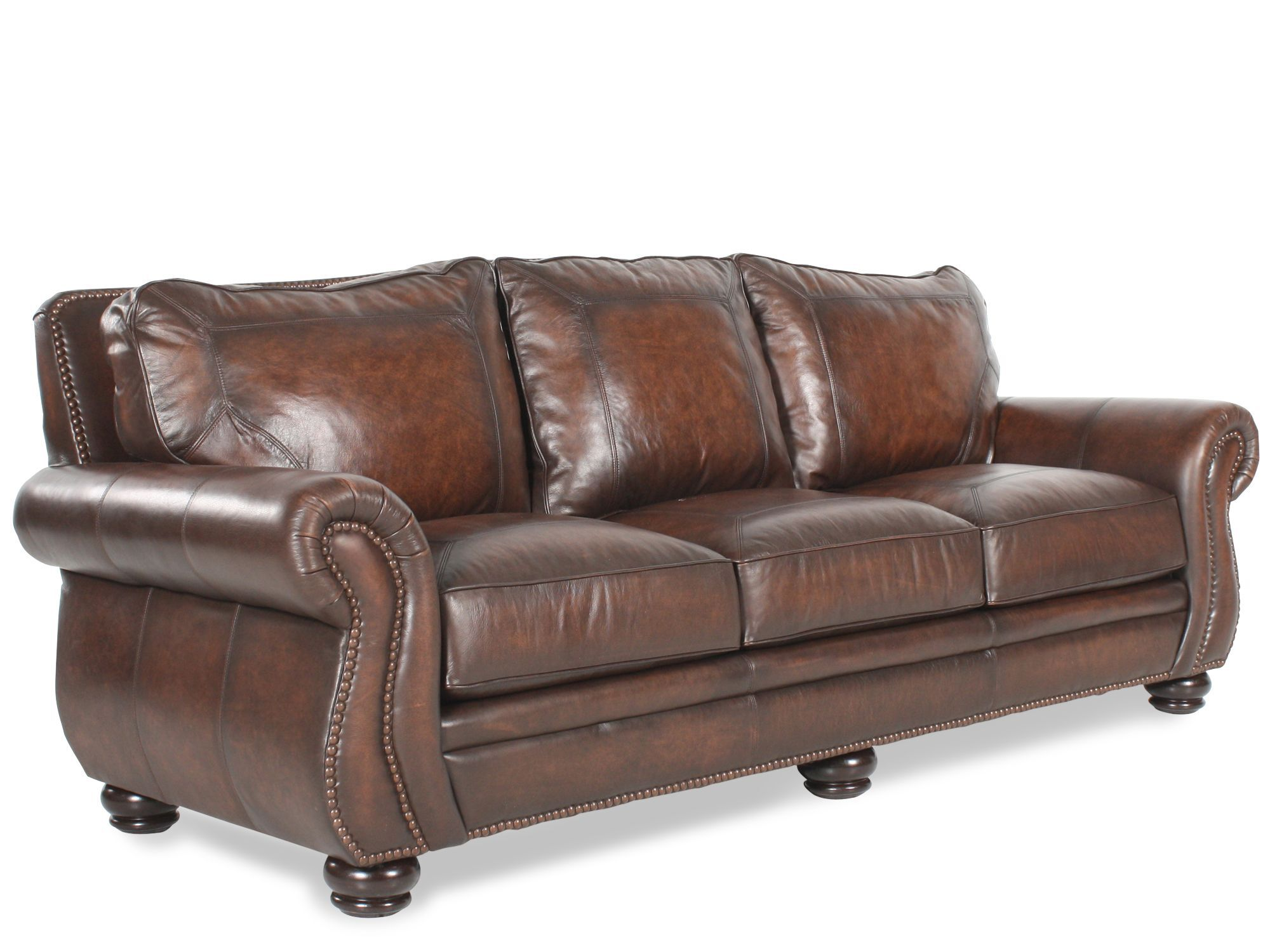 Bernhardt Breckenridge Leather Sofa · Bernhardt Breckenridge Leather Sofa  ...