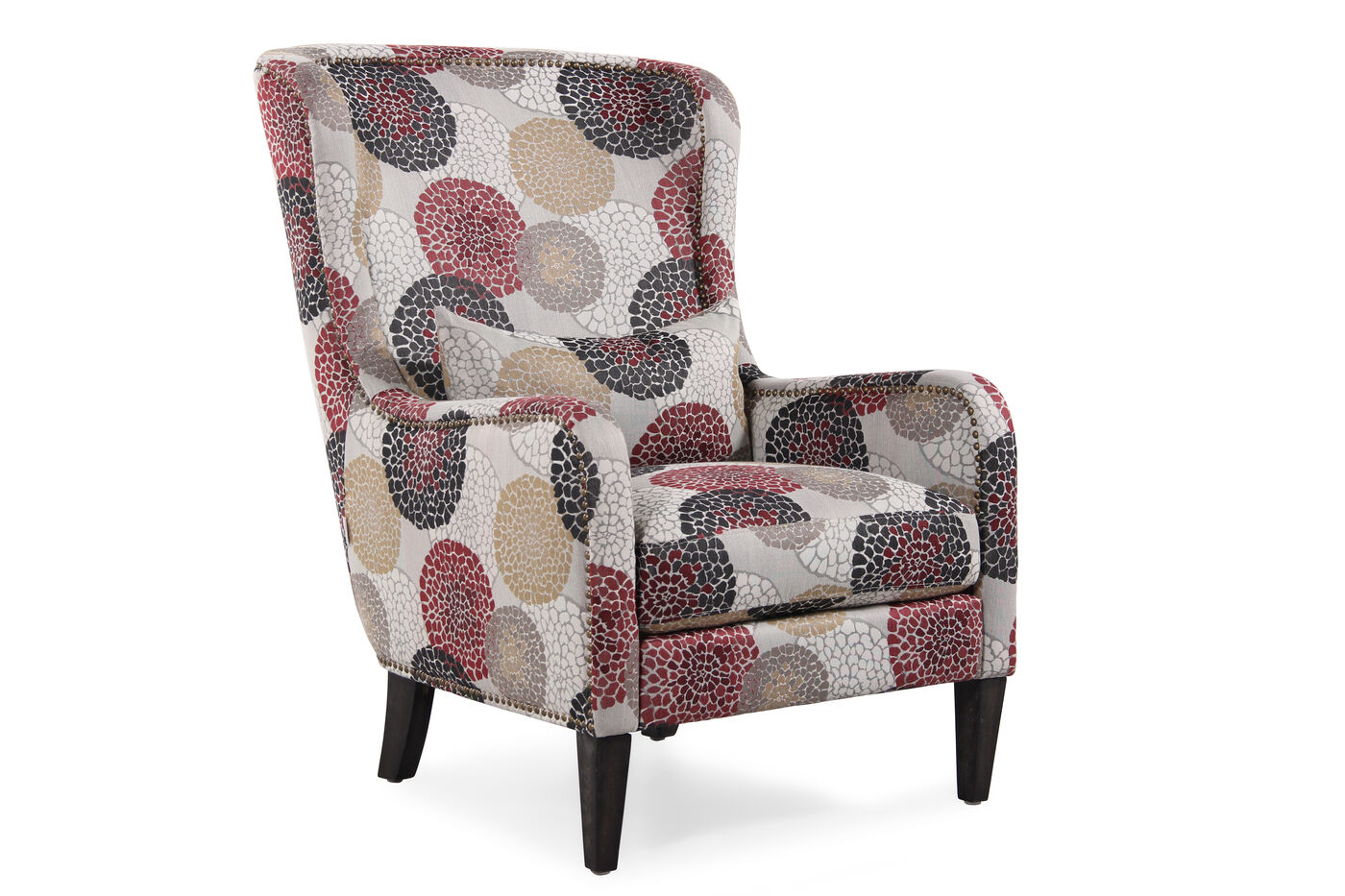 Boulevard Floral Splash Accent Chair Mathis Brothers Furniture