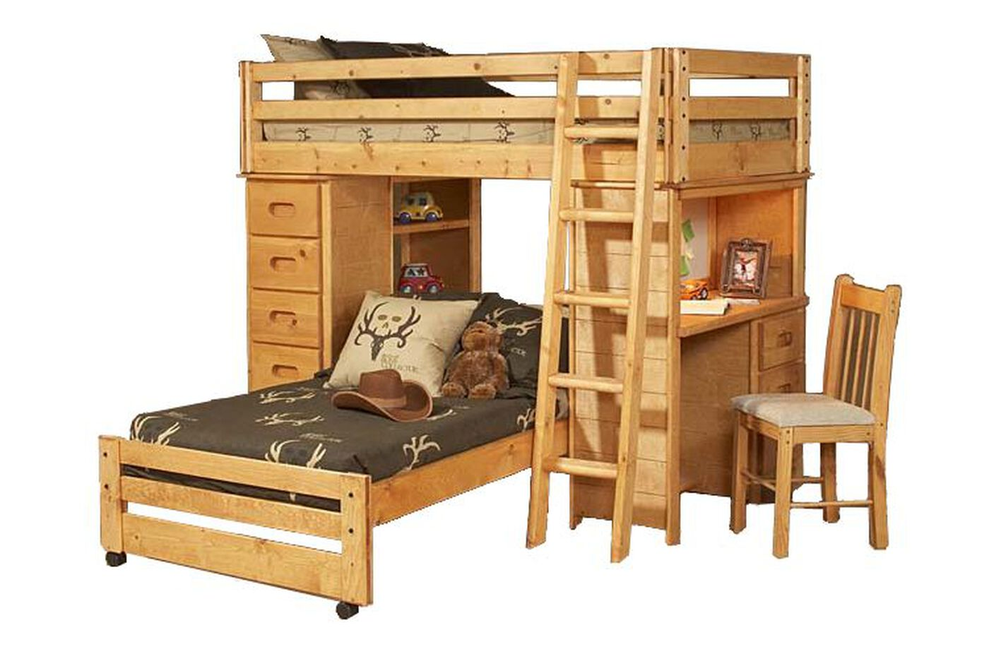 Trendwood Kid S Loft Bed Mathis Brothers Furniture
