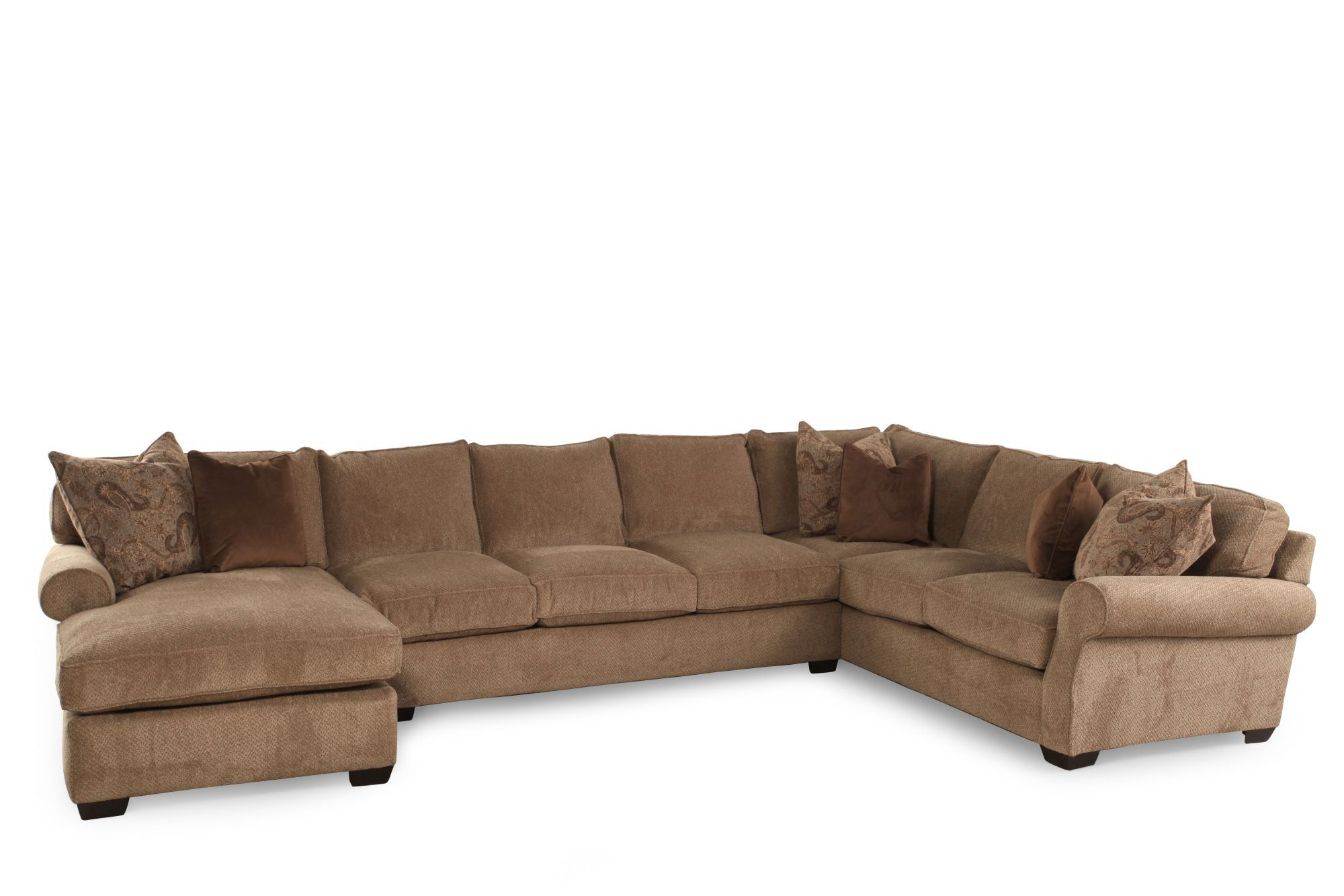Lane Jonah Stone ThreePiece SectionalMathis Brothers Furniture