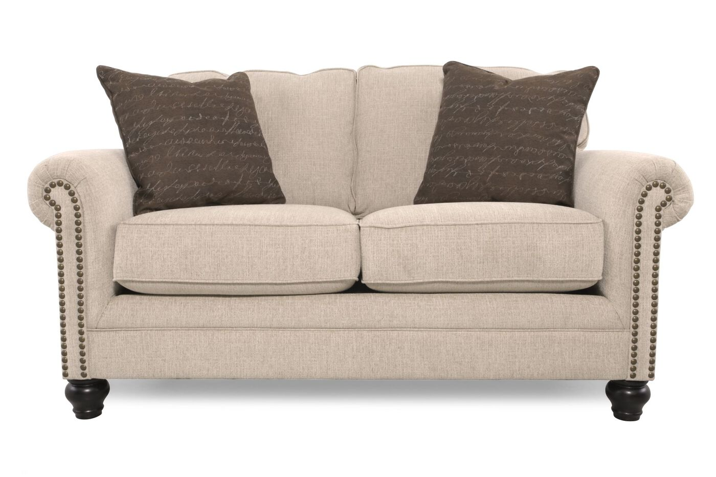 Ashley Milari Linen Loveseat Mathis Brothers Furniture