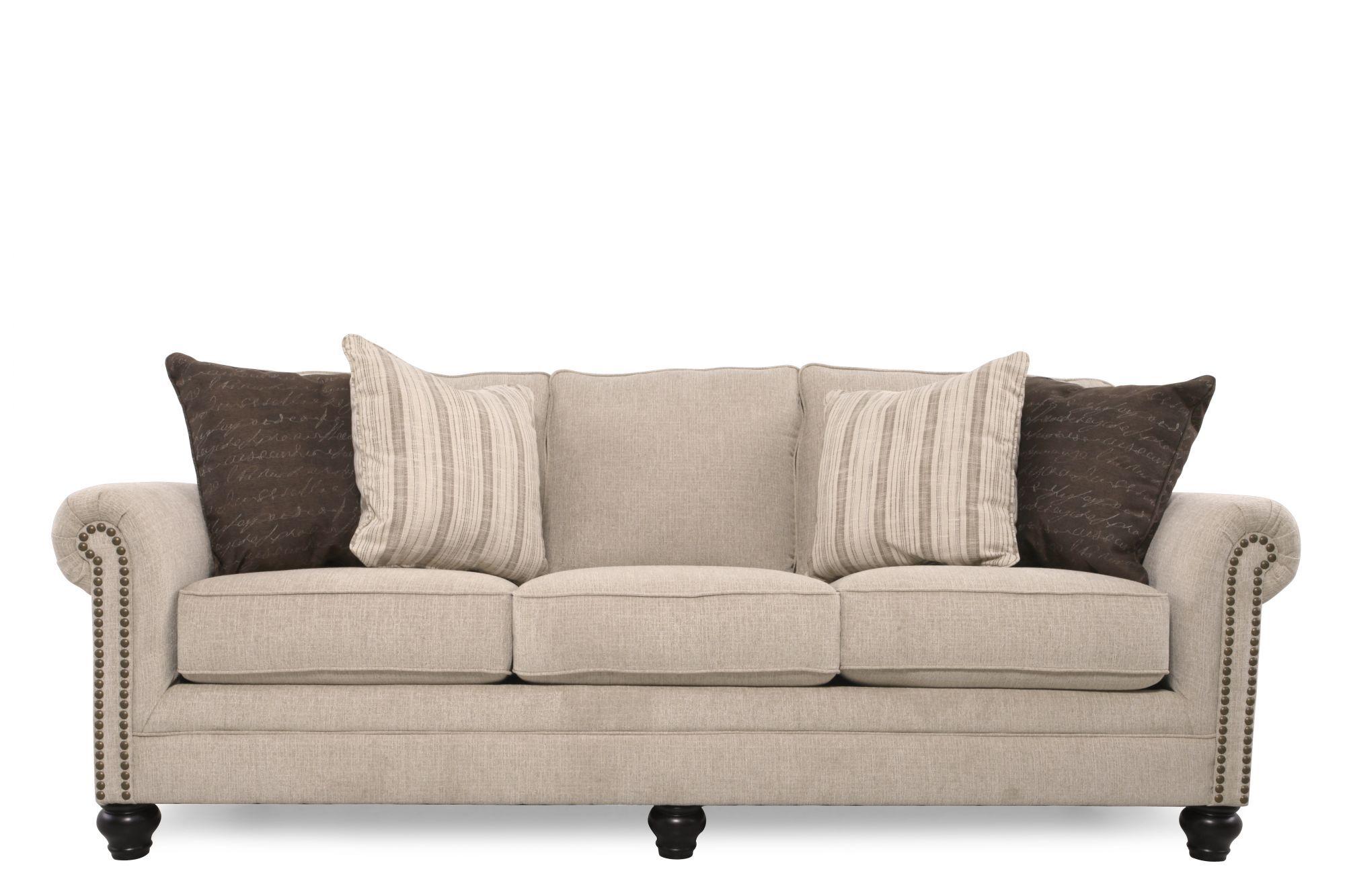 Ashley 90u0026quot; Casual Sofa ...