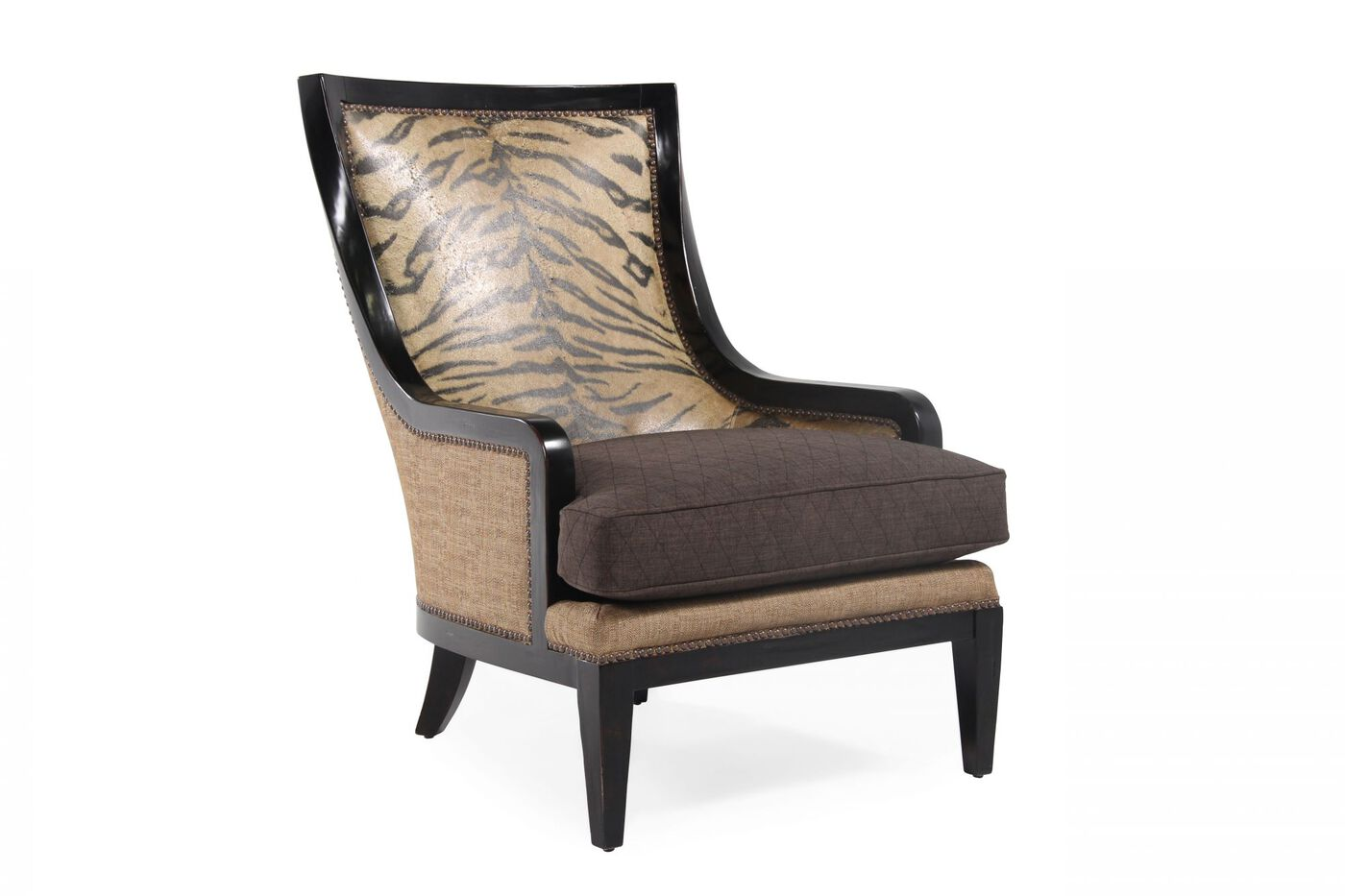 A r t furniture foundry zebra accent chair mathis brothers furniture - Essential accent furniture for your home ...