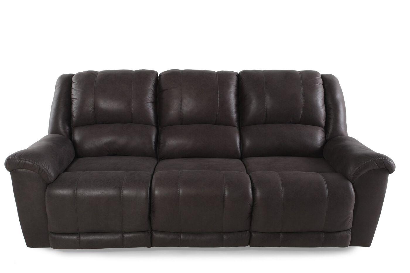 Ashley Niarobi Alloy Reclining Sofa Mathis Brothers Furniture