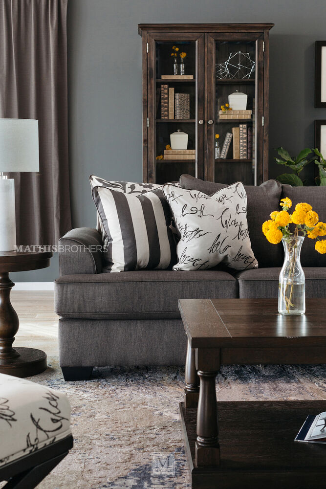 Can You Buy Ashley Furniture Online: Levon Charcoal Sofa