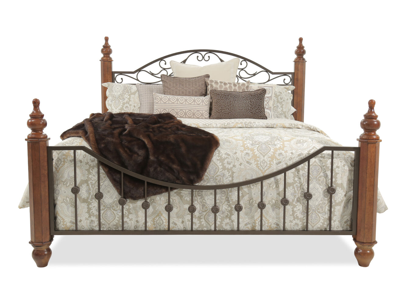 Ashley Wyatt Bed Mathis Brothers Furniture