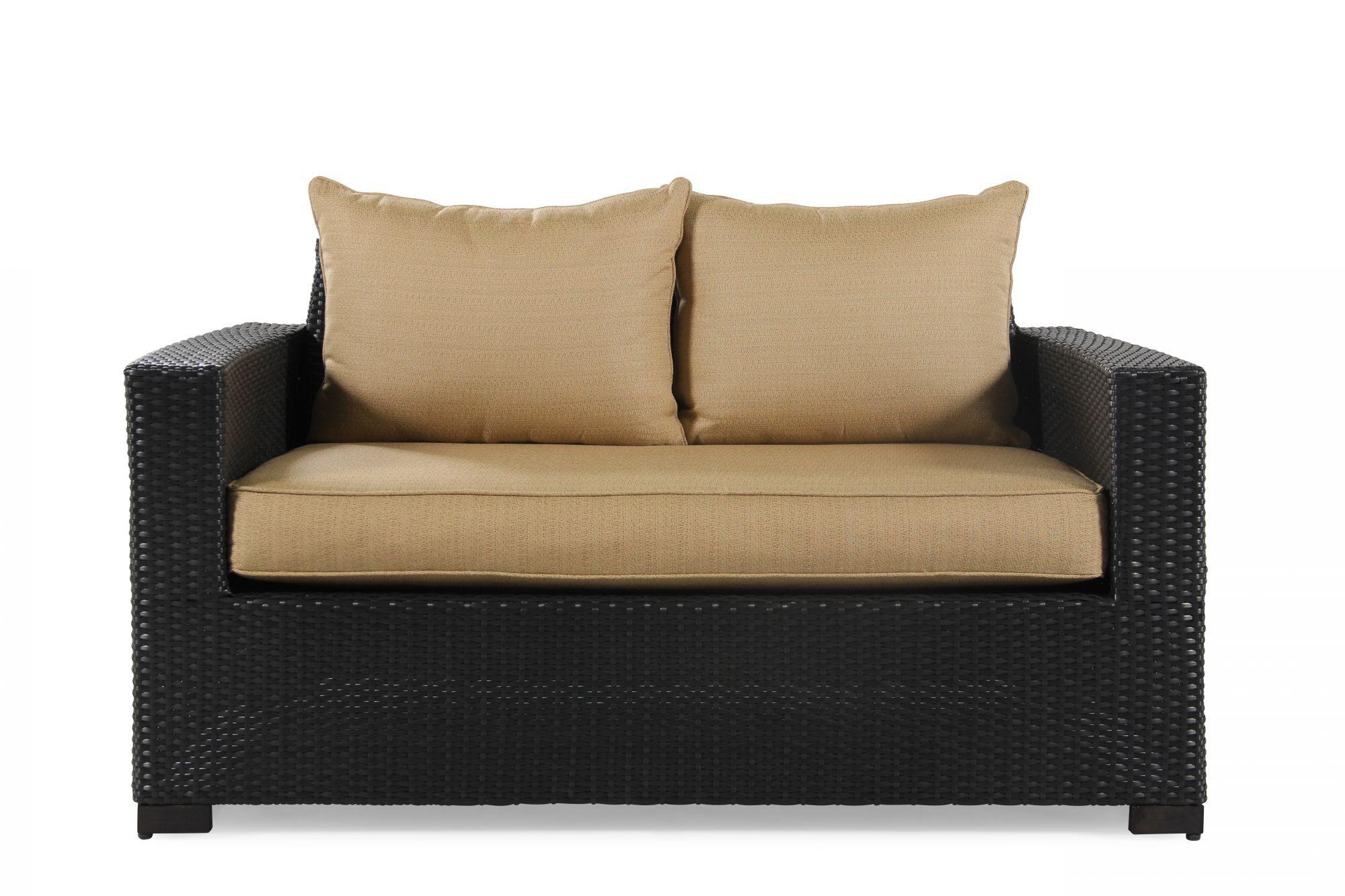 World Source Brevard Loveseat With Cushion