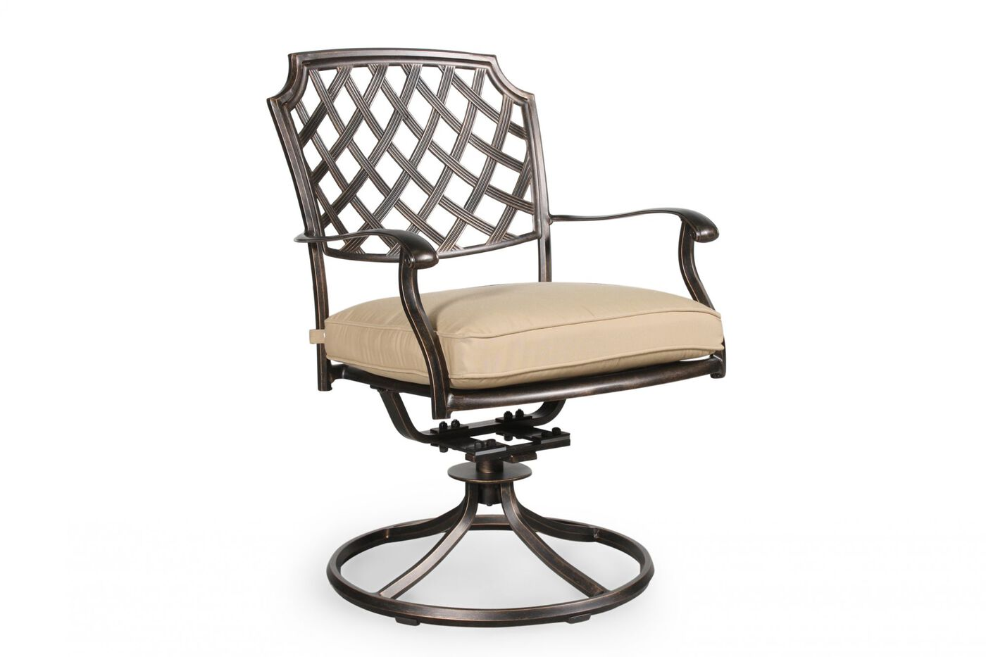 Agio Heritage Select Patio Swivel Rocker