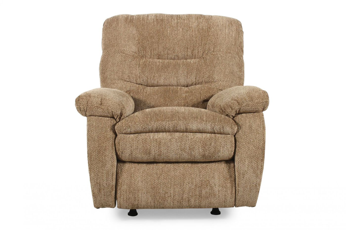 Lane zero gravity laredo tan rocker recliner mathis brothers furniture for Living room with two recliners