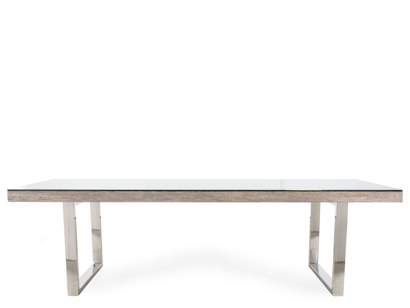 Bernhardt Interiors Henley Glass Dining Table - Bernhardt Interiors Henley Glass Dining Table Mathis Brothers