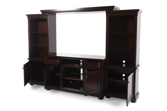 Ashley Millennium Porter Large Wall Unit Mathis Brothers