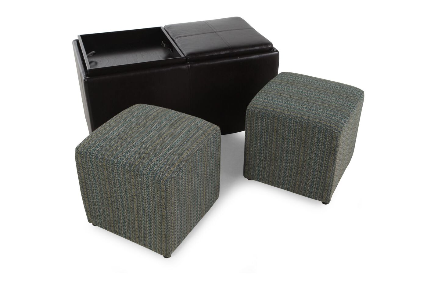 ... Ashley Casheral Linen Storage Ottoman with Cubes ... - Ashley Casheral Linen Storage Ottoman With Cubes Mathis Brothers