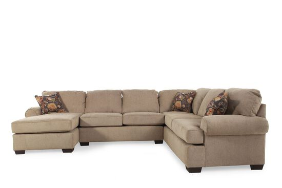 Lane vivian barely sectional mathis brothers furniture for Mathis brothers living room furniture sectional sofas