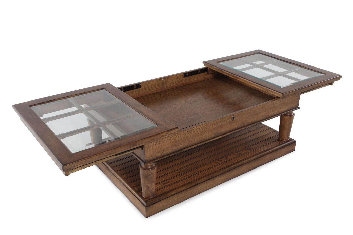 ... Broyhill New Vintage Window Pane Coffee Table ... - Broyhill New Vintage Window Pane Coffee Table Mathis Brothers