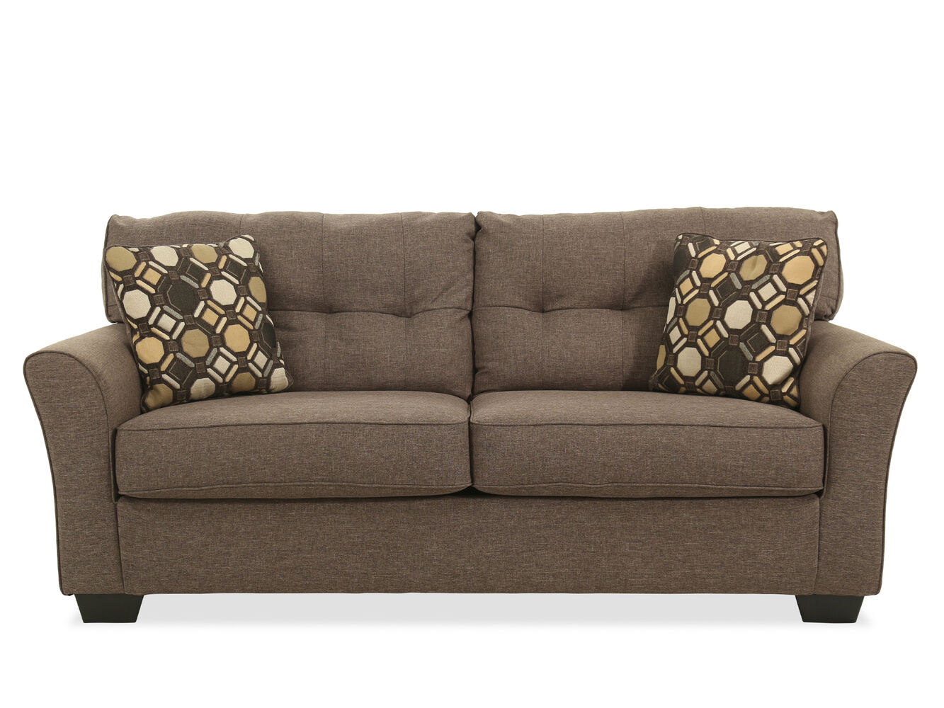 Ashley Tibbee Slate Sofa Mathis Brothers Furniture