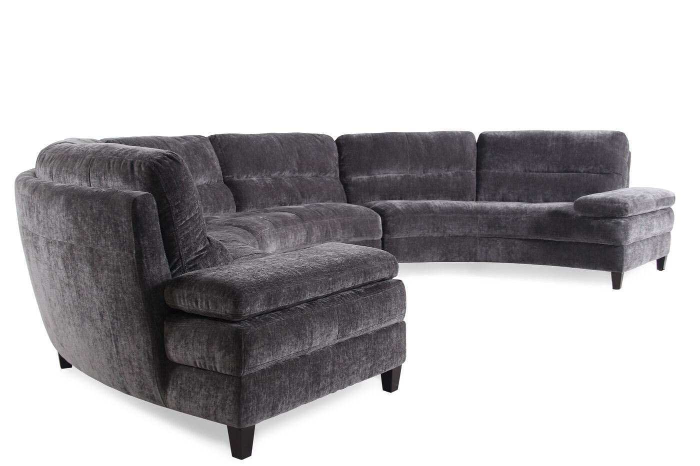 Boulevard Slate Three Piece Sectional. Boulevard Slate Three Piece Sectional   Mathis Brothers Furniture