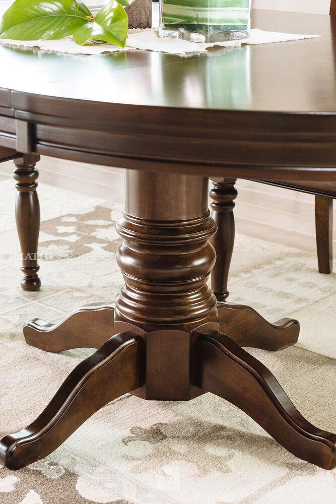 Ashley Furniture Porter D697 35 Rectangular Extension: Ashley Porter Five-Piece Round Dining Set