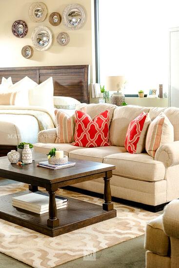 Ashley Sansimeon Stone Sofa Mathis Brothers Furniture