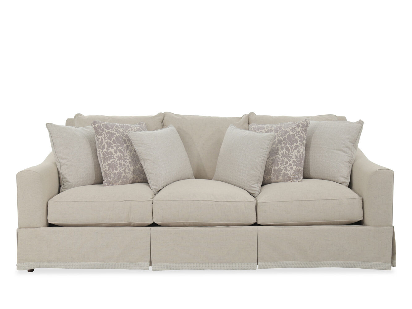 Broyhill Regina Fabric Sofa | Mathis Brothers Furniture