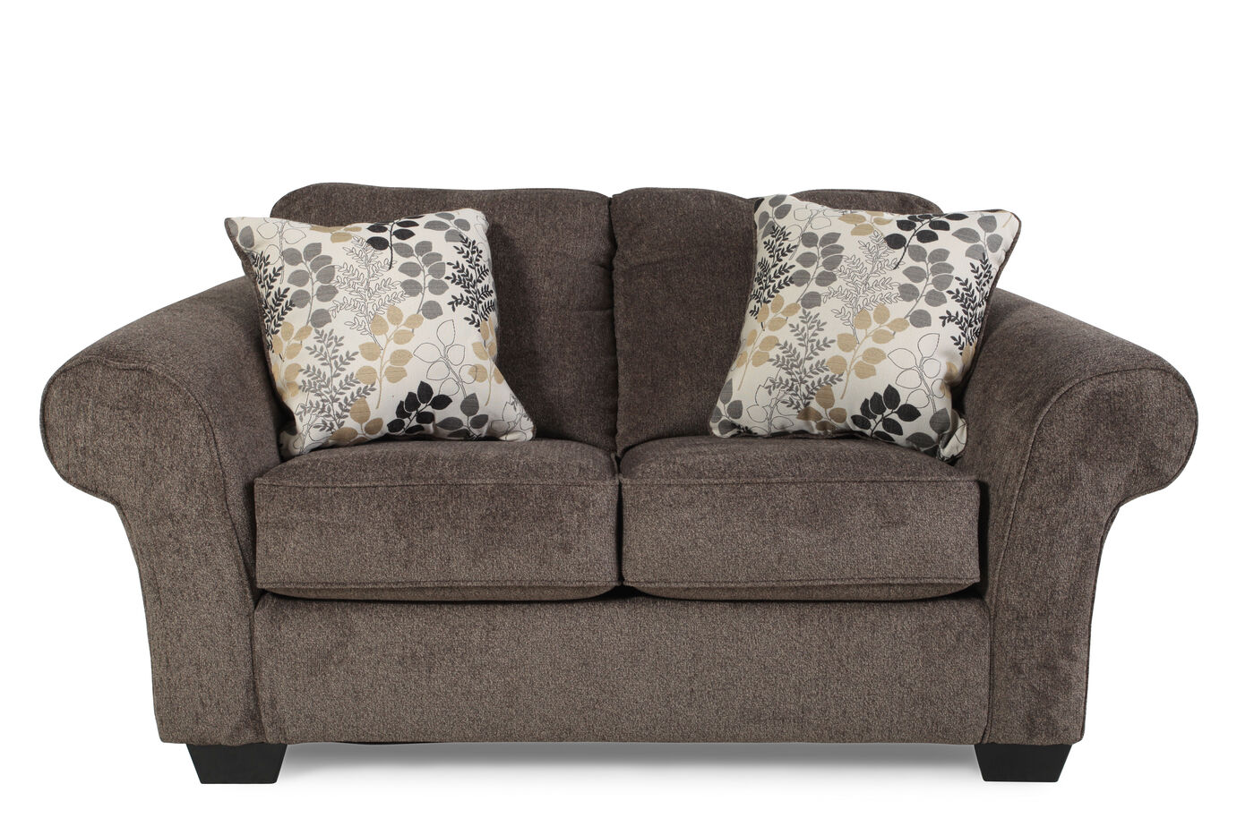 Ashley Makonnen Charcoal Loveseat Mathis Brothers Furniture