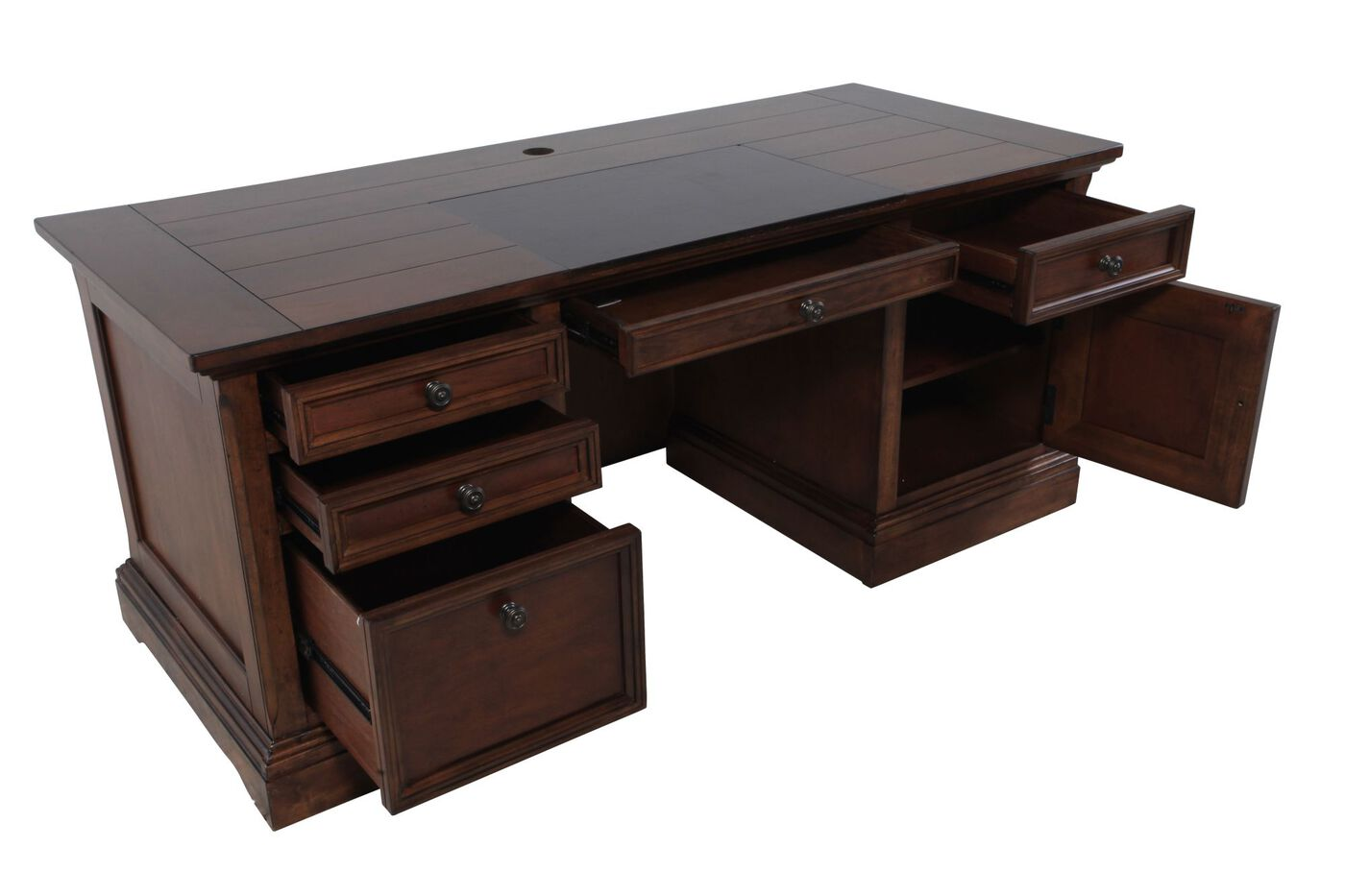 Ashley gaylon executive desk mathis brothers furniture - Ashley furniture office desk ...