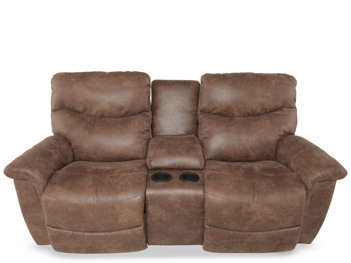 Leather recliners lazy boy - Double Recliner La Z Boy Mathis Brothers