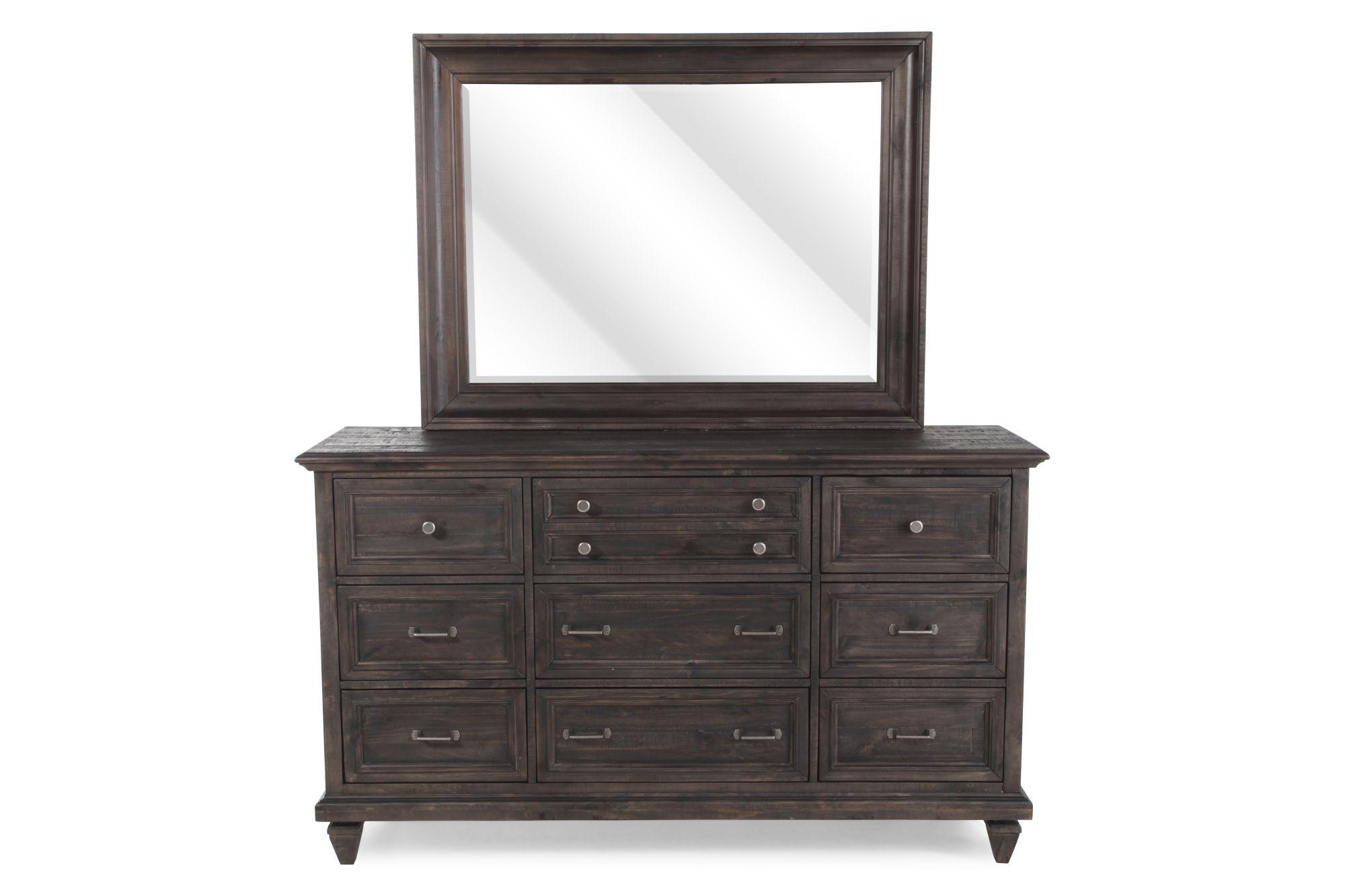 magnussen home calistoga dresser and mirror - Magnussen Furniture