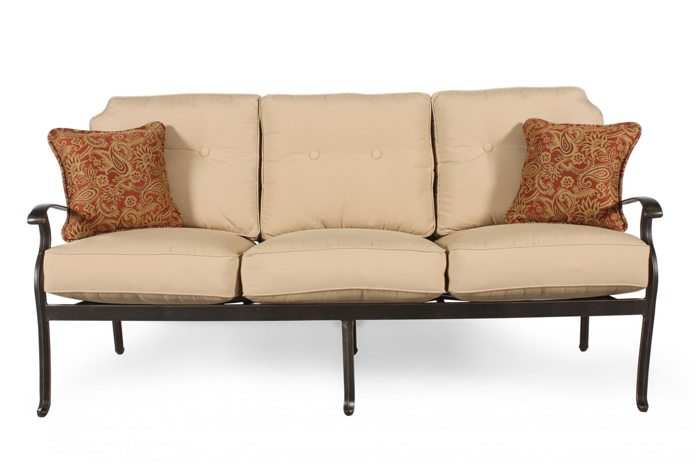 agio heritage select patio sofa mathis brothers furniture