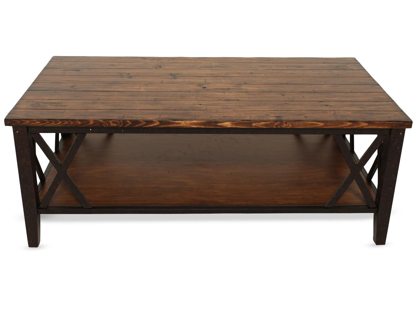 Magnussen Home Fleming Cocktail Table Mathis Brothers Furniture