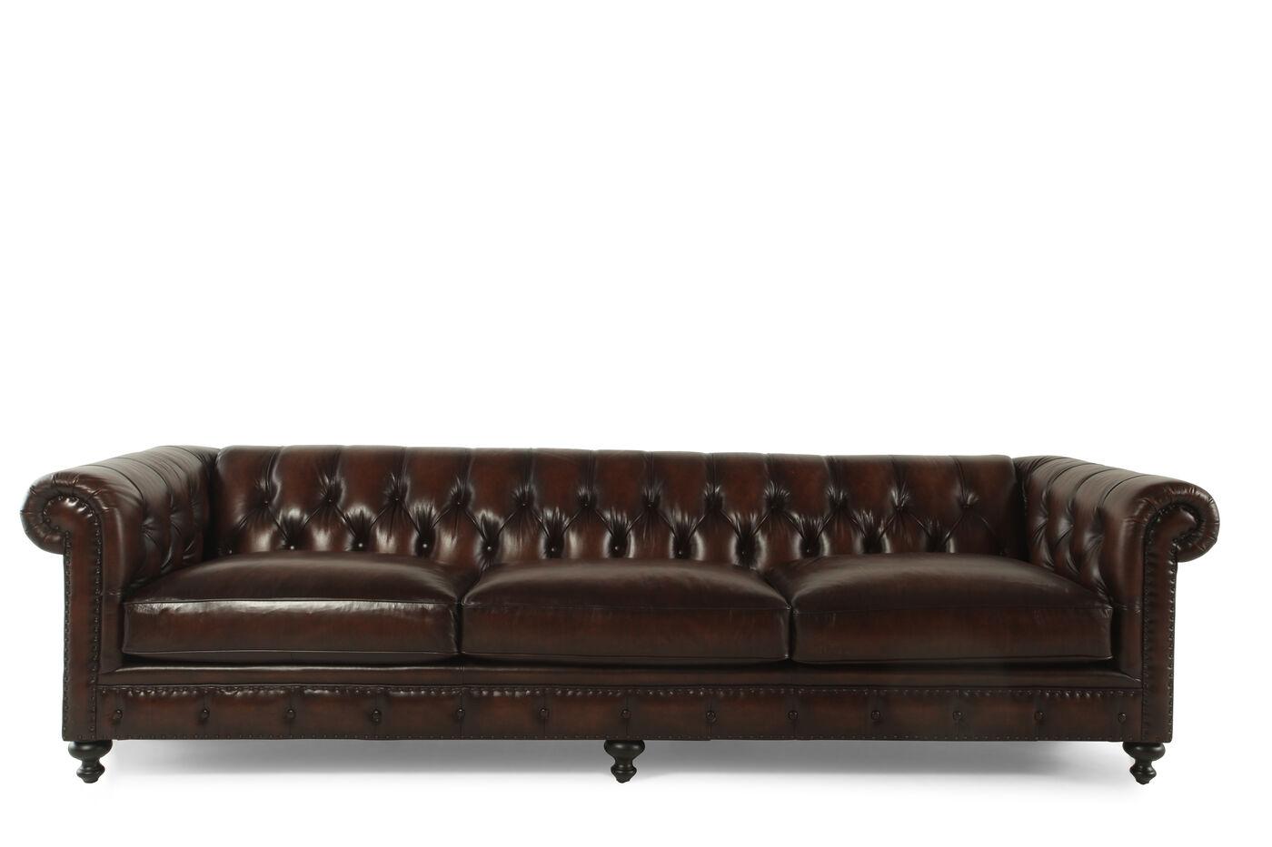 Mathis Brothers Bernhardt Leather Sofas Refil Sofa