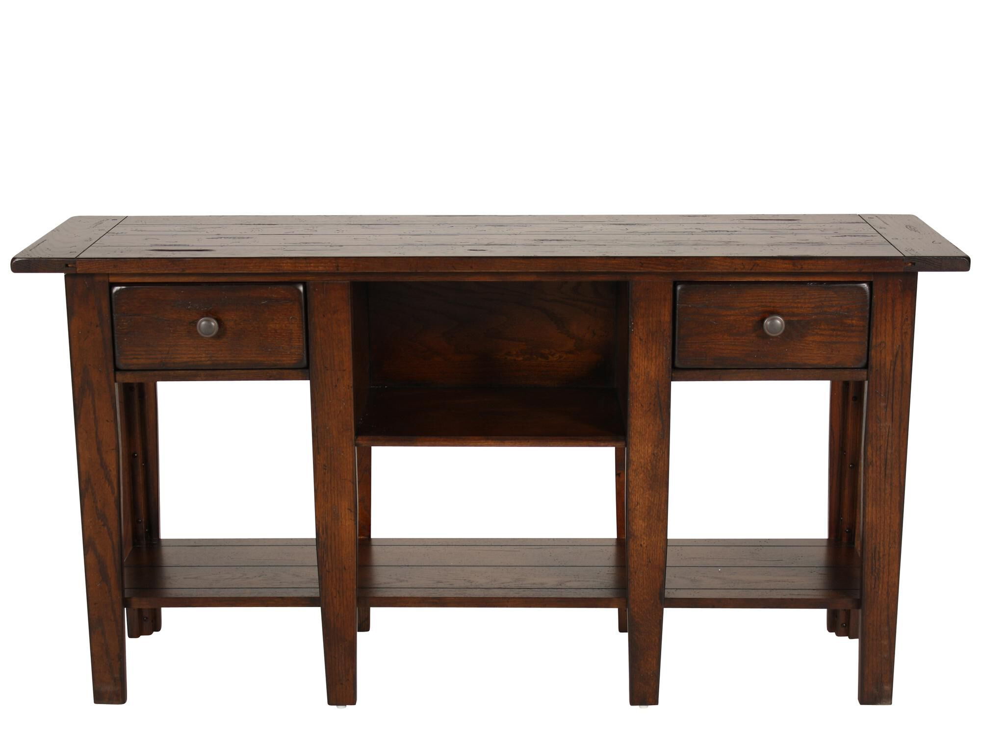 Broyhill Attic Heirlooms Rustic Sofa Table