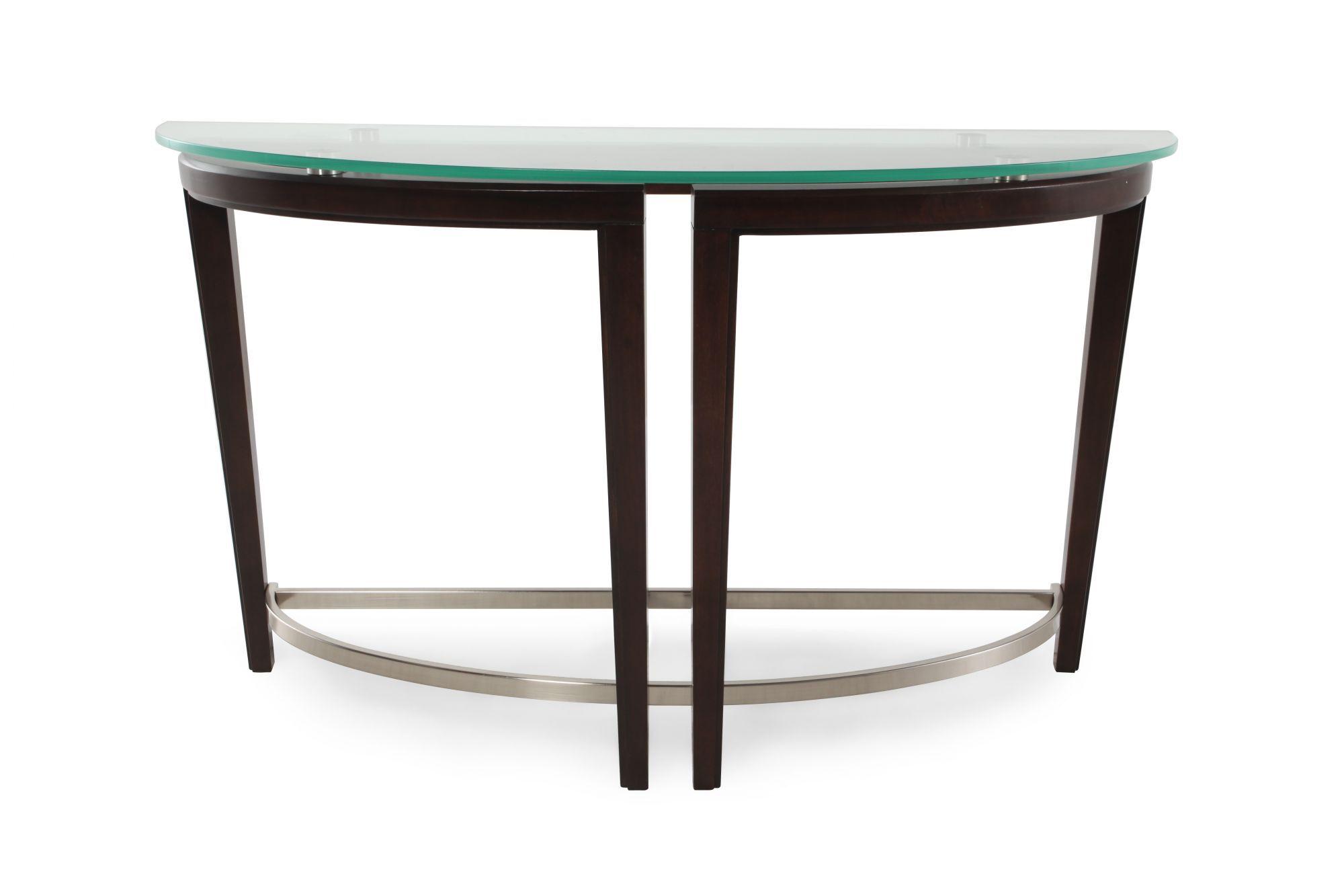 magnussen home carmen sofa table - White Sofa Table