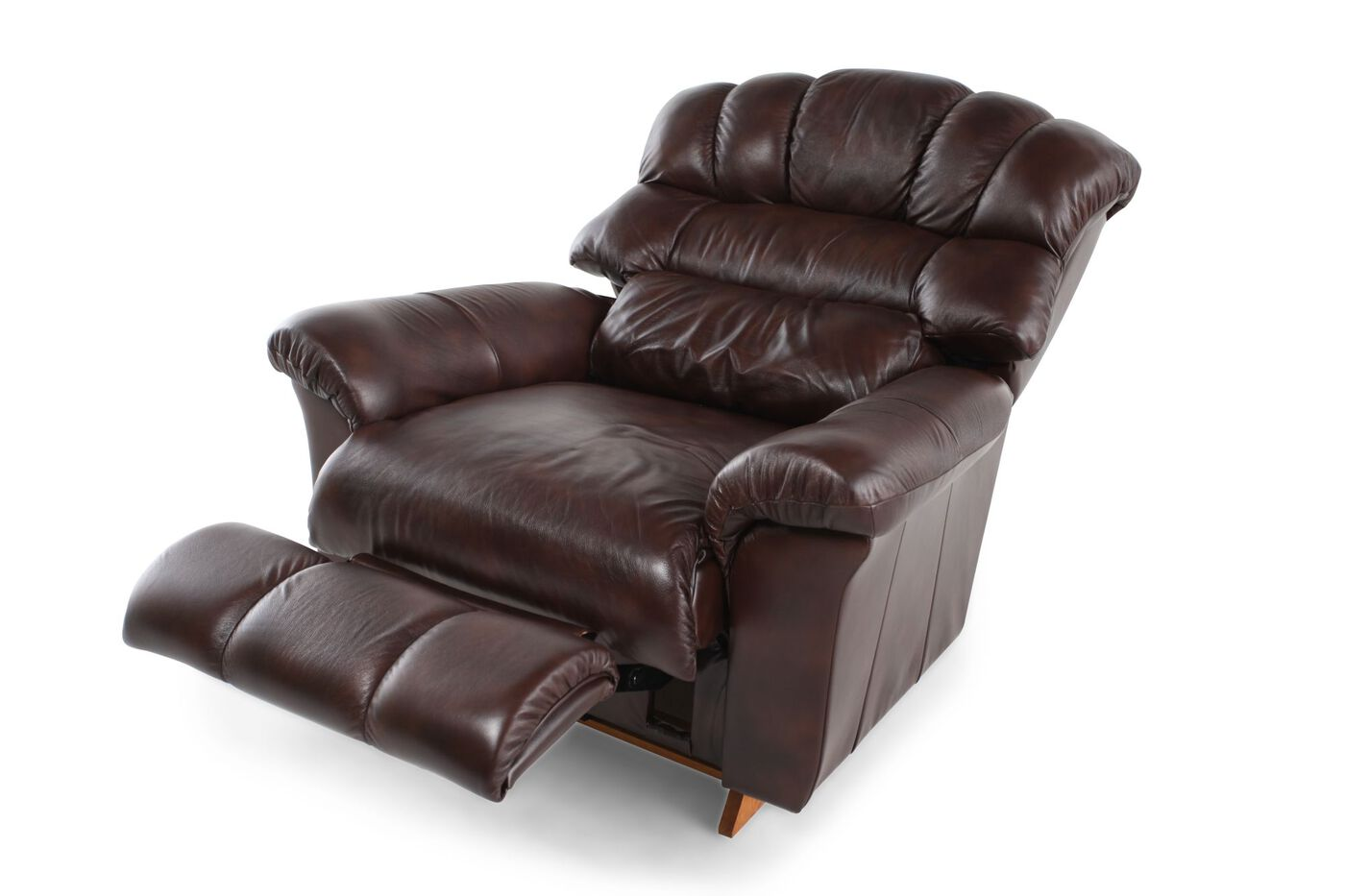 Chocolate Recliner Mathis Brothers