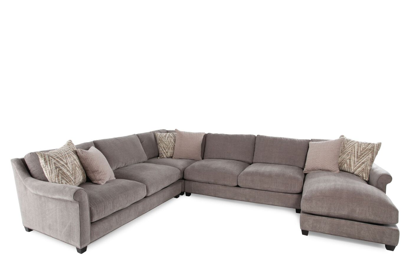 Jonathan Louis Shearson Four-Piece Sectional : Mathis Brothers Furniture
