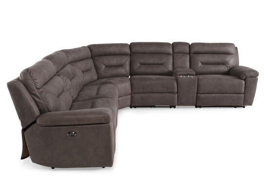 Boulevard Power Six Piece Sectional Mathis Brothers