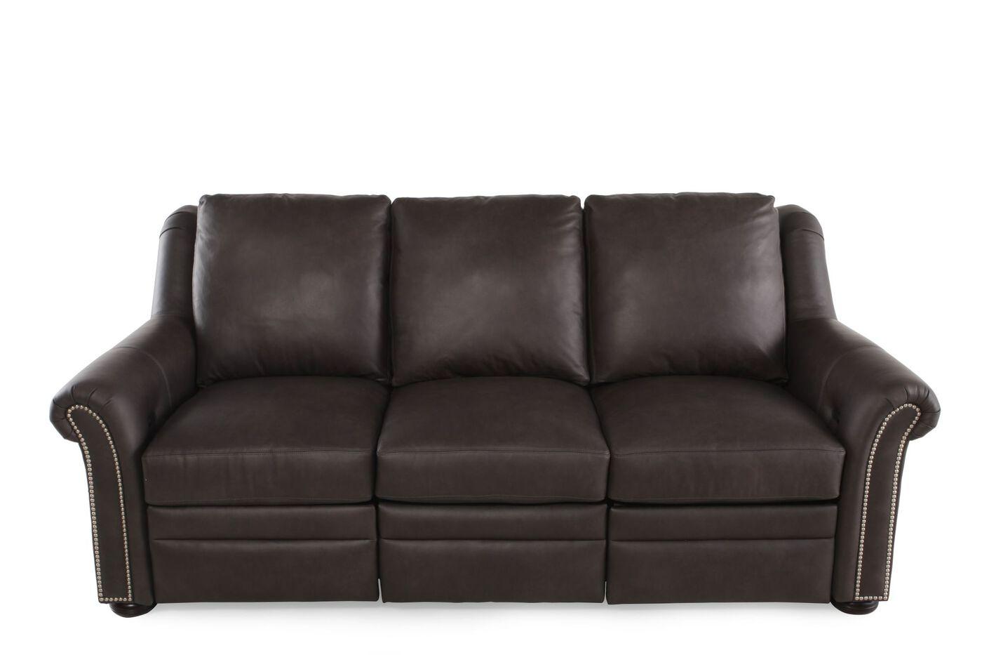 Bradington young luxury motion newman reclining sofa for Luxuriose sofas