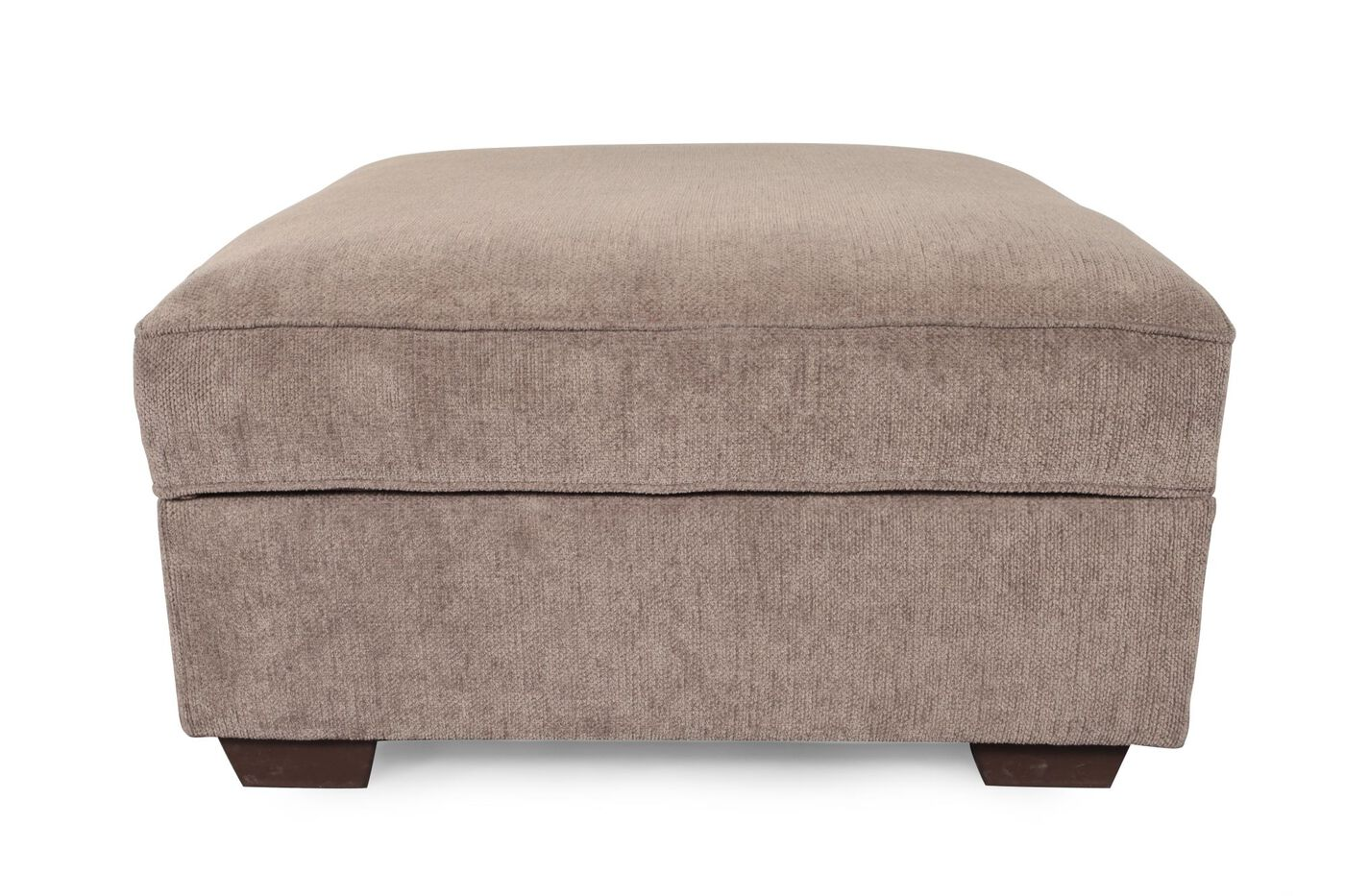 Ashley Loric Smoke Storage Ottoman - Ottomans Mathis Brothers Furniture Stores