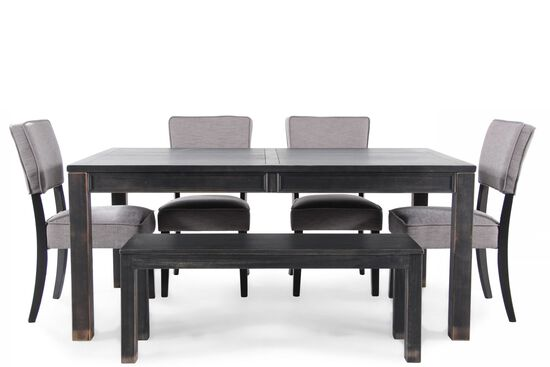 Ashley Gavelston Six Piece Dining Set By Ashley Mathis Brothers Furniture