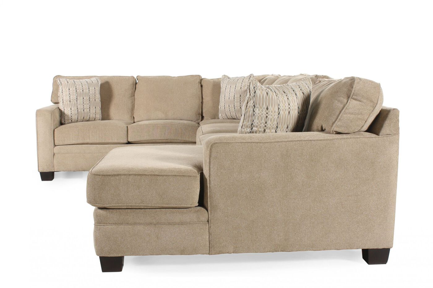 Broyhill choices sectional mathis brothers furniture for Mathis brothers living room furniture sectional sofas