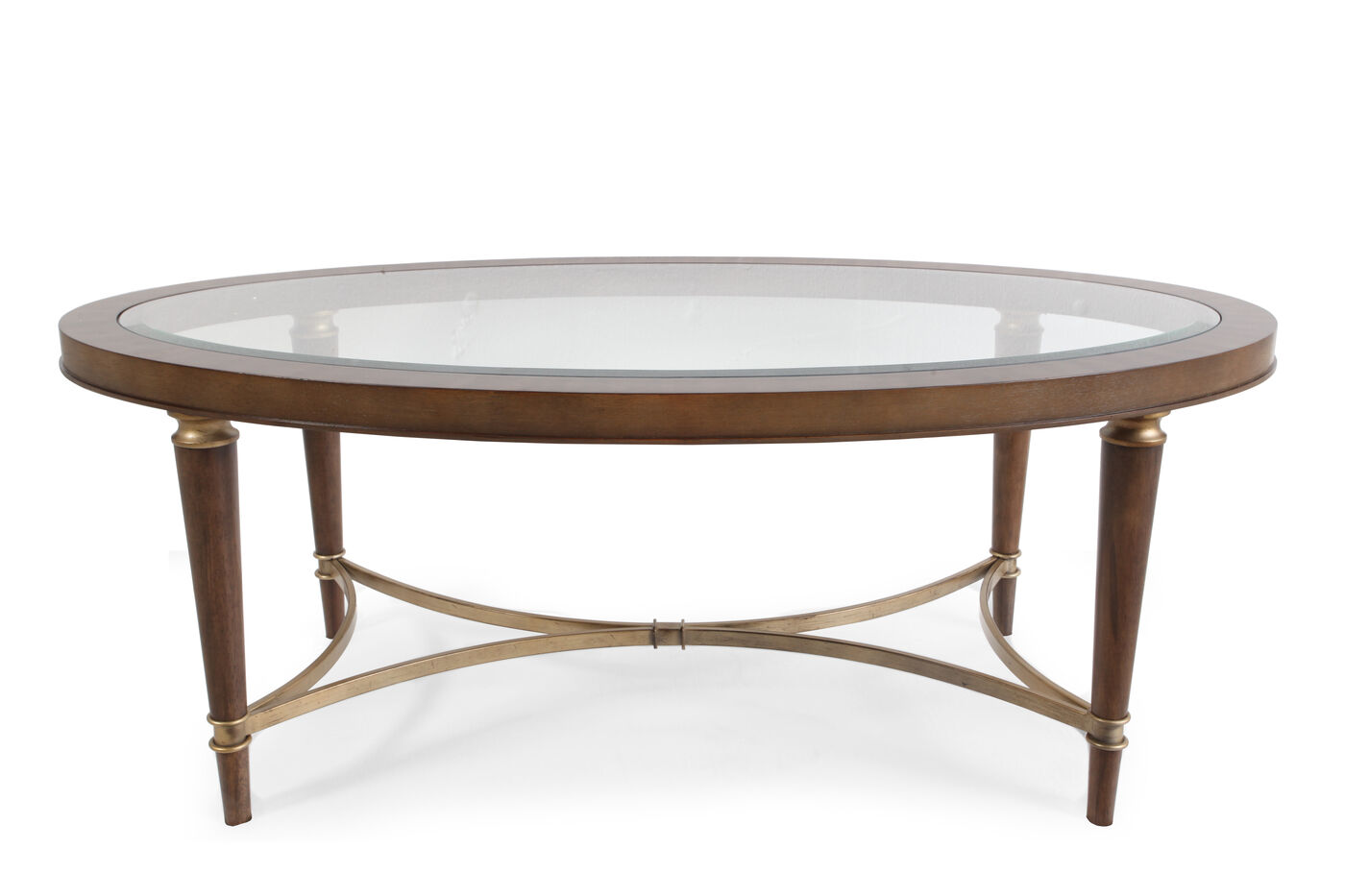 Broyhill Kristen Oval Cocktail Table - Broyhill Kristen Oval Cocktail Table Mathis Brothers Furniture