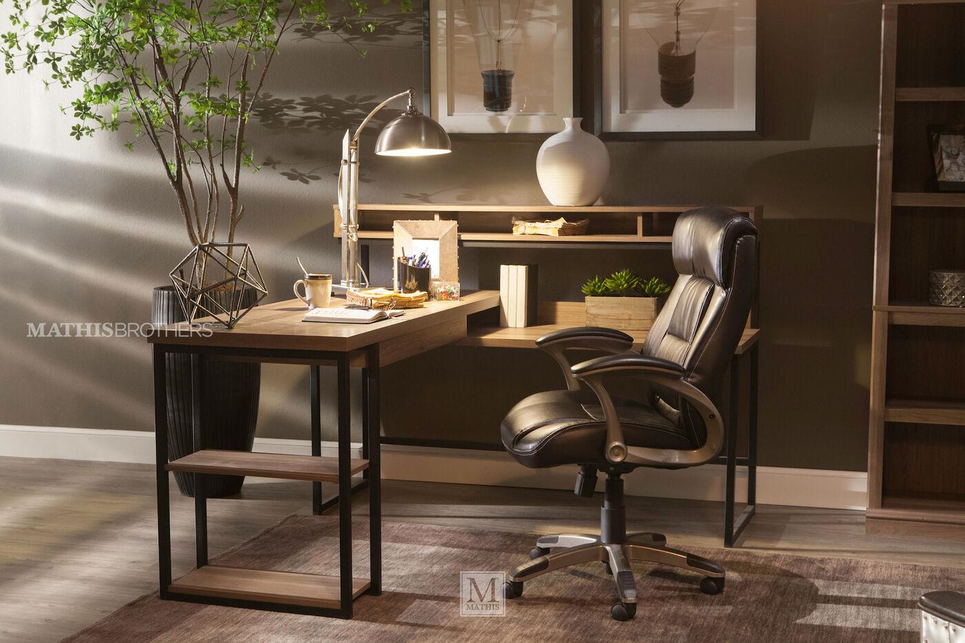 Sauder L Shaped Desk Mathis Brothers Furniture
