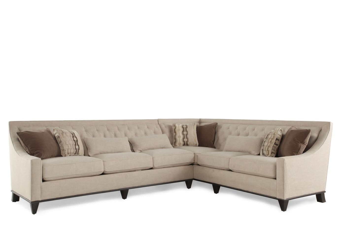 A r t furniture wythe coffee bean sectional