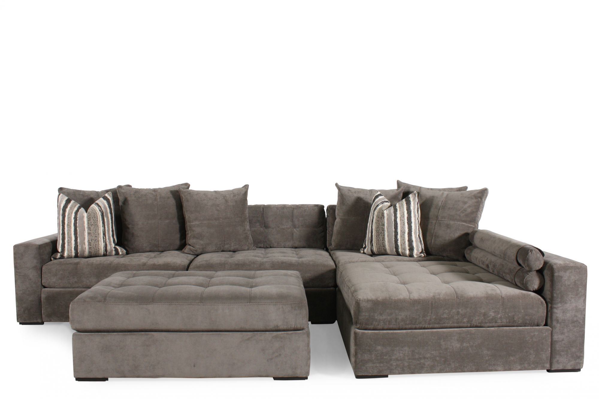 Exceptional Jonathan Louis Juno Four Piece Sectional Mathis Brothers Furniture