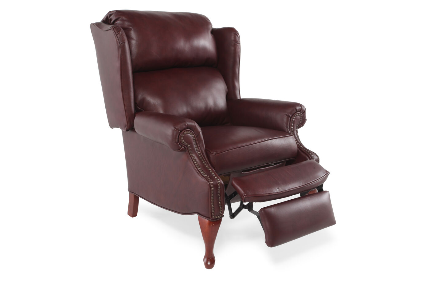 Lane Savannah Leather Recliner Mathis Brothers Furniture