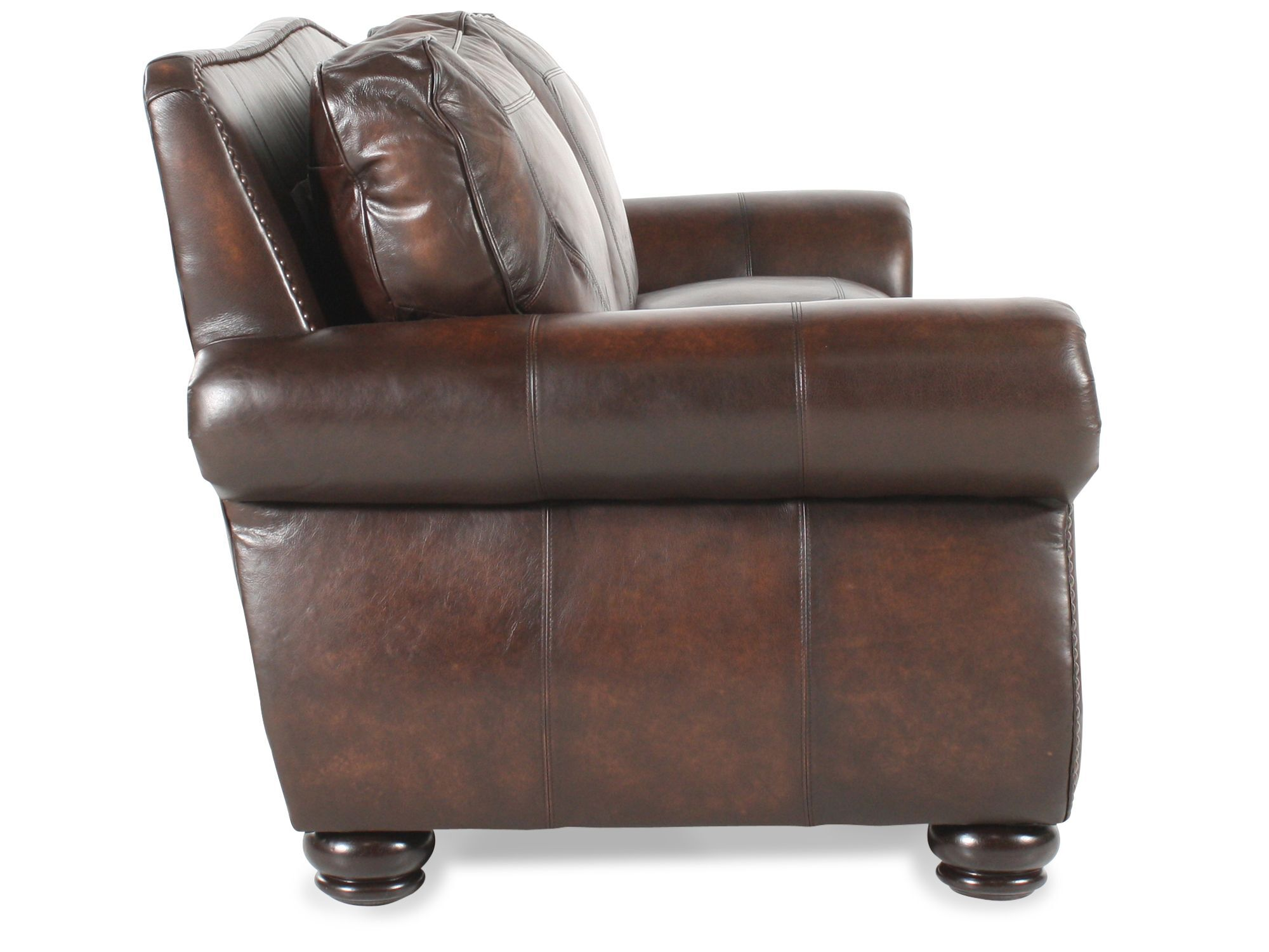 ... Bernhardt Breckenridge Leather Sofa ...