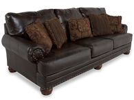 Ashley Millennium Performance Leather Antique Sofa
